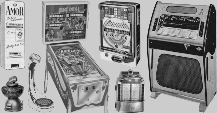 Jukebox, Pinball And More - Startseite